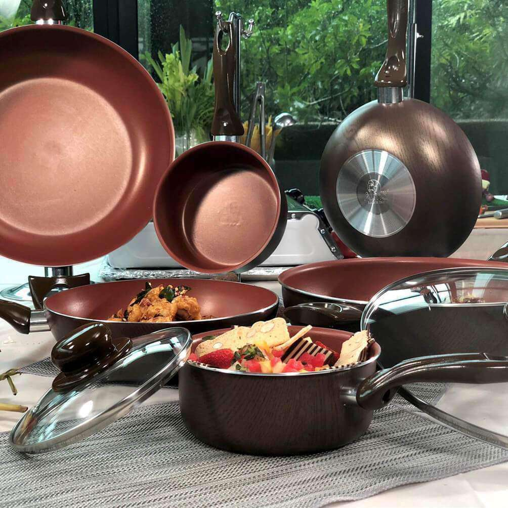 Alma Woodline Italy Designer's Cookware | Limited Edition Collection