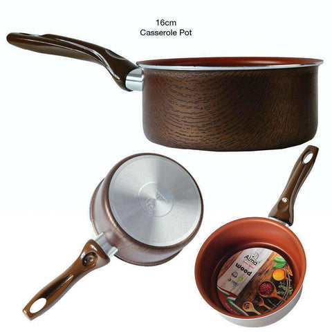 Image of Alma Woodline Italy Designer's Cookware | Limited Edition Collection