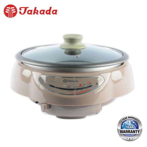 Image of TAKADA ISB-630A Multi Purpose Cooker – 3.5L (Stainless Steel Design) - almaxpress