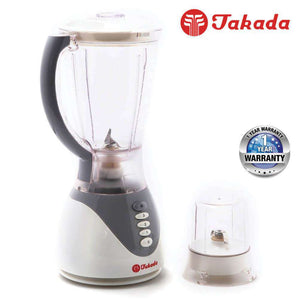 TAKADA ISB-731 High Power Blender with 4-speed control – 1.5L Capacity [Blue / Grey]
