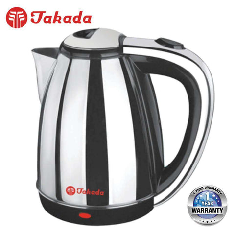 Image of TAKADA ISB-800S Stainless Steel Electric Kettle Jug – 1.8L - almaxpress