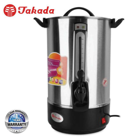 Image of TAKADA ISB-80L Electric Water Boiler (Stainless Steel Water / Hot Drink Boiler) – 8L - almaxpress