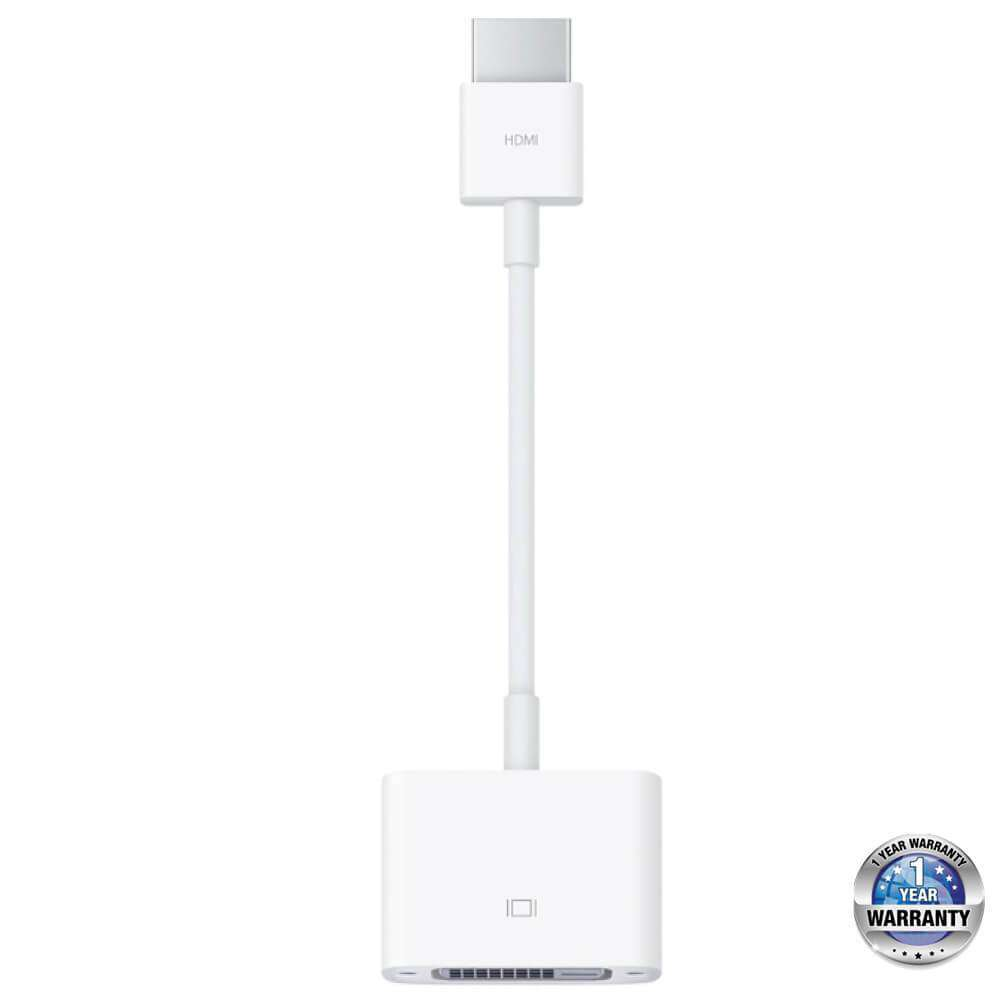 APPLE Mac Accessories | HDMI to DVI Adapter