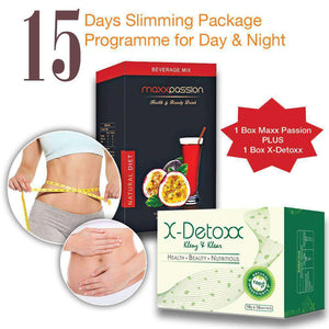 The Ultimate 15 Days Slim n Detox Drink | Day & Night Pack