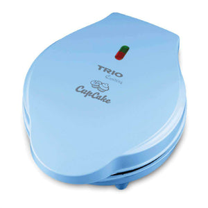 TRIO TCC-227 Fun Cupcake Maker (Blue) +  FREE Recipe Booklet