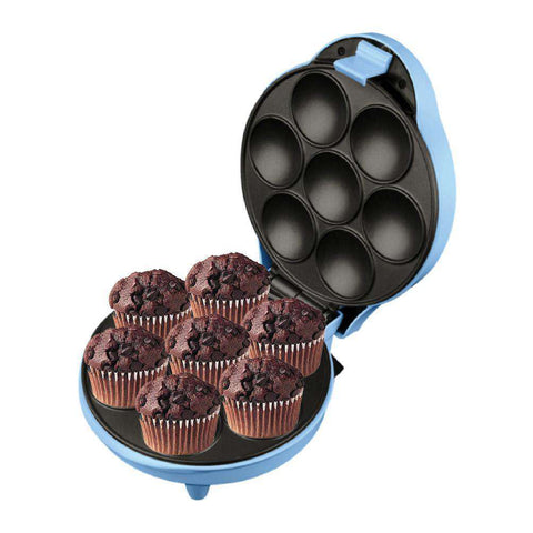 TRIO TCC-227 Fun Cupcake Maker (Blue) + FREE Recipe Booklet - almaxpress