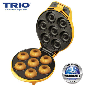 TRIO TDM-229 Donut Maker with Non-stick Coating Plate - 7pcs Capacity - almaxpress