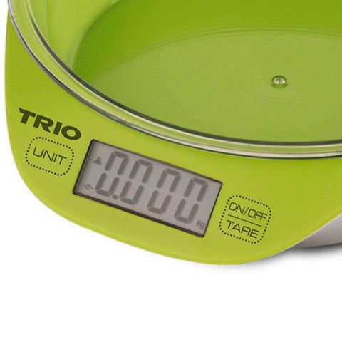 Image of TRIO TKS-867 Digital Kitchen Scale – Capacity 5.2kg
