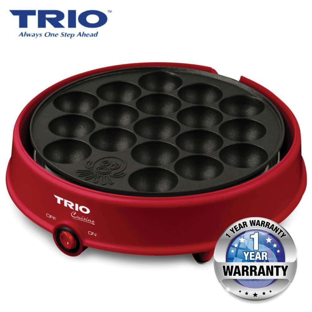 TRIO TSG-2442 Japanese Takoyaki Grill Red - almaxpress