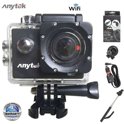 ANYTEK AC-28 Action Camera 4K | Wifi Waterproof