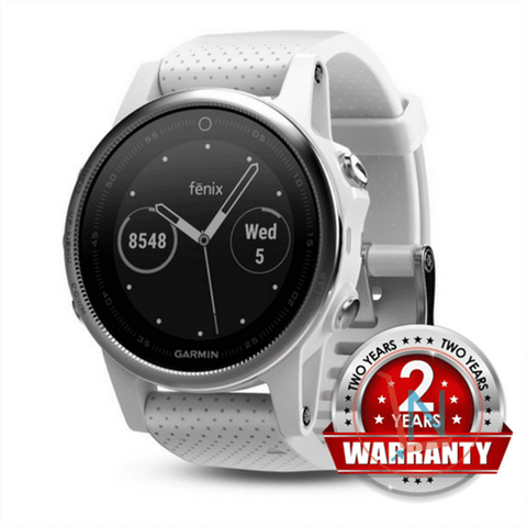 GARMIN fenix 5S - White with Carrara White Band