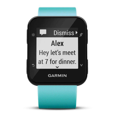 GARMIN Forerunner 35 GPS Running Watch - Frost Blue