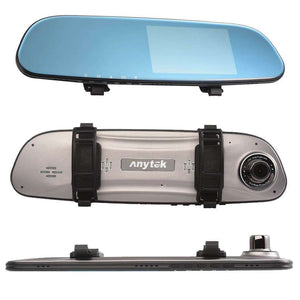 "ANYTEK G77 4.3""Touch Screen 4K Dash Cam 