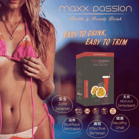 The Secret Passion Fruit Slimming Drink | Buy 4 FREE 2