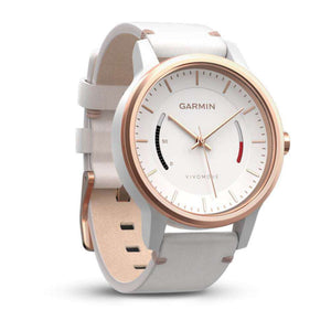 GARMIN Vivomove Classic Watch with Activity Tracking - White