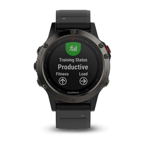 Image of GARMIN fenix 5 Multisport GPS Watch for Fitness, Adventure and Style - Grey