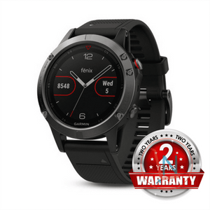 GARMIN fenix 5 Multisport GPS Watch for Fitness, Adventure and Style - Grey