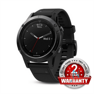 GARMIN fenix 5 Multisport GPS Watch for Fitness, Adventure and Style - Black