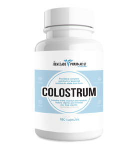 1 Bottle Renegade Colostrum Capsules 180 ct