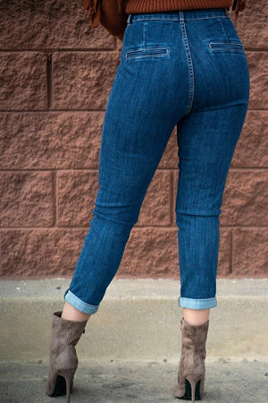 Dogma High Rise Mom Jeans - DG7035HD