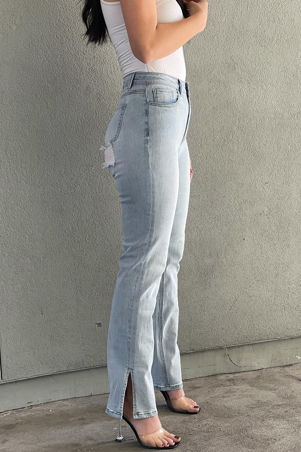 Dogma High Rise Wide Leg Jeans - DG7044HL
