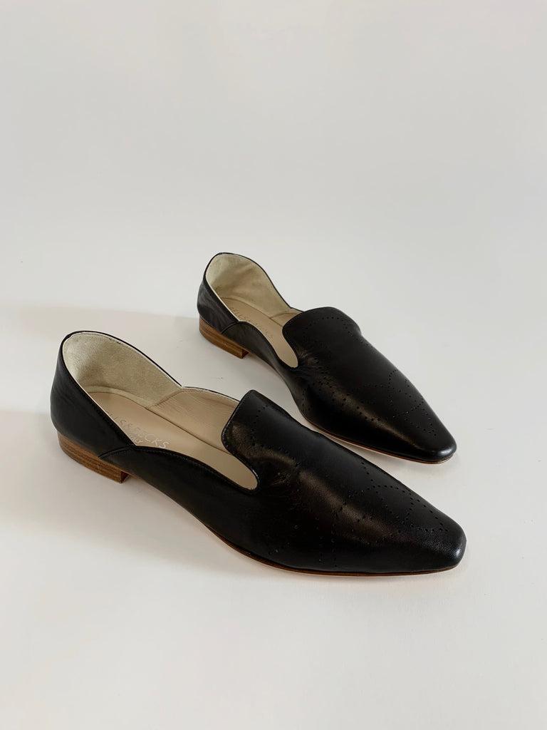 Black Soft Moccasin - Sample Size 37