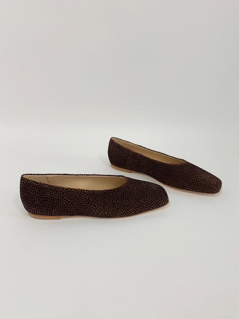 The Cellina Leopard Suede - Sample Size 37