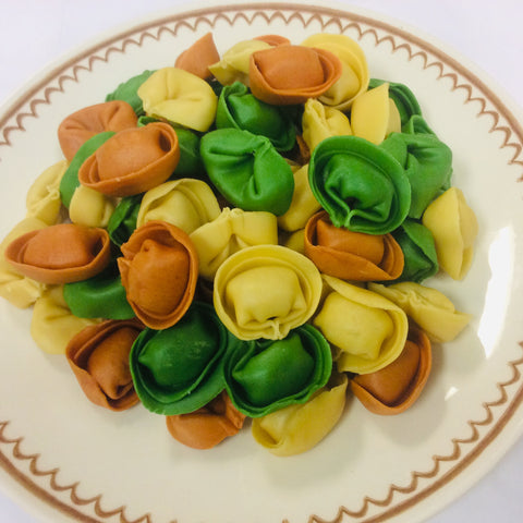 Tri-Color Meat Cappelletti