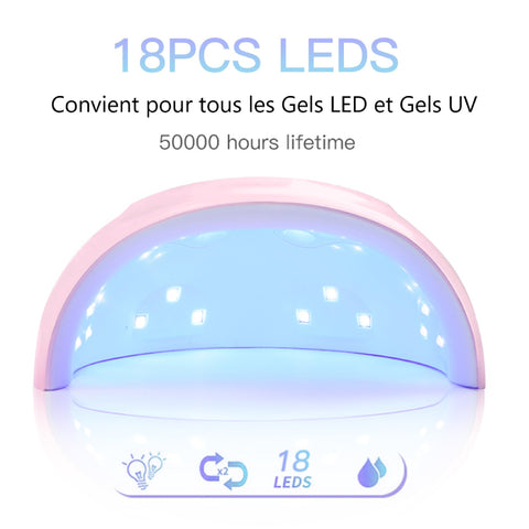 Lampe UV LED Professionnelle pour les ongles BeautifulEyes Products