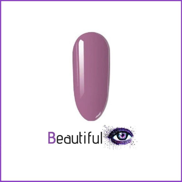 Vernis à ongle en stylo couleurs mauve BeautifulEyes Products