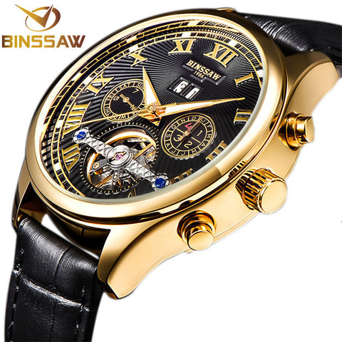 BINSSAW 2017 Men's Automatic Mechanical Watch - £75.00