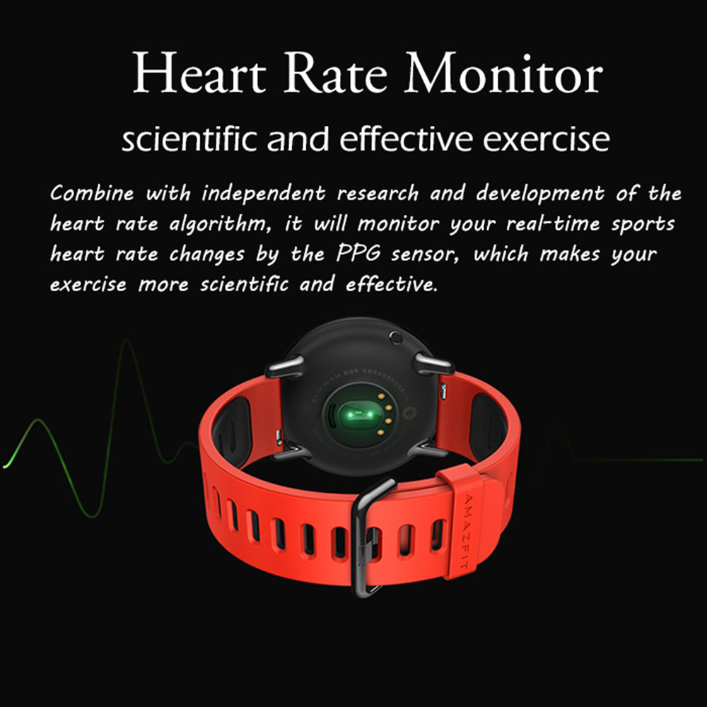 Xiaomi Huami AMAZFIT Pace GPS Running Bluetooth 4.0 Sports Smart Watch MI Heart Rate Monitor - £125.00