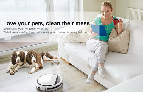ILIFE V3S Pro Robot Vacuum Cleaner - £175.00