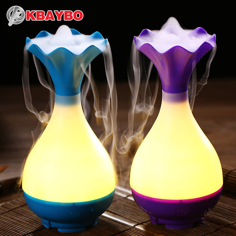 USB Air Humidifier Ultrasonic Aromatherapy Diffuser with LED Night Light Mist Purifier atomizer - £20.00