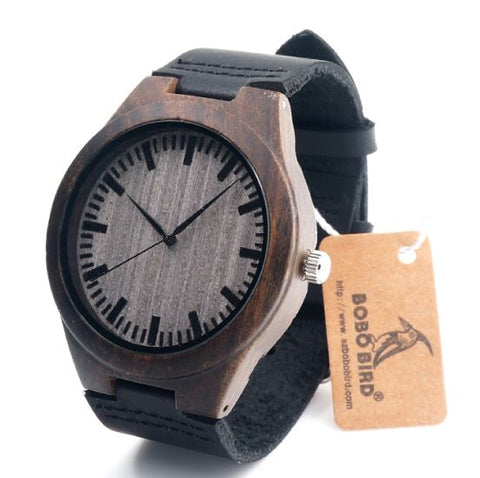 BOBOBIRD Limited Edition Bamboo Wooden Watch - £40.00