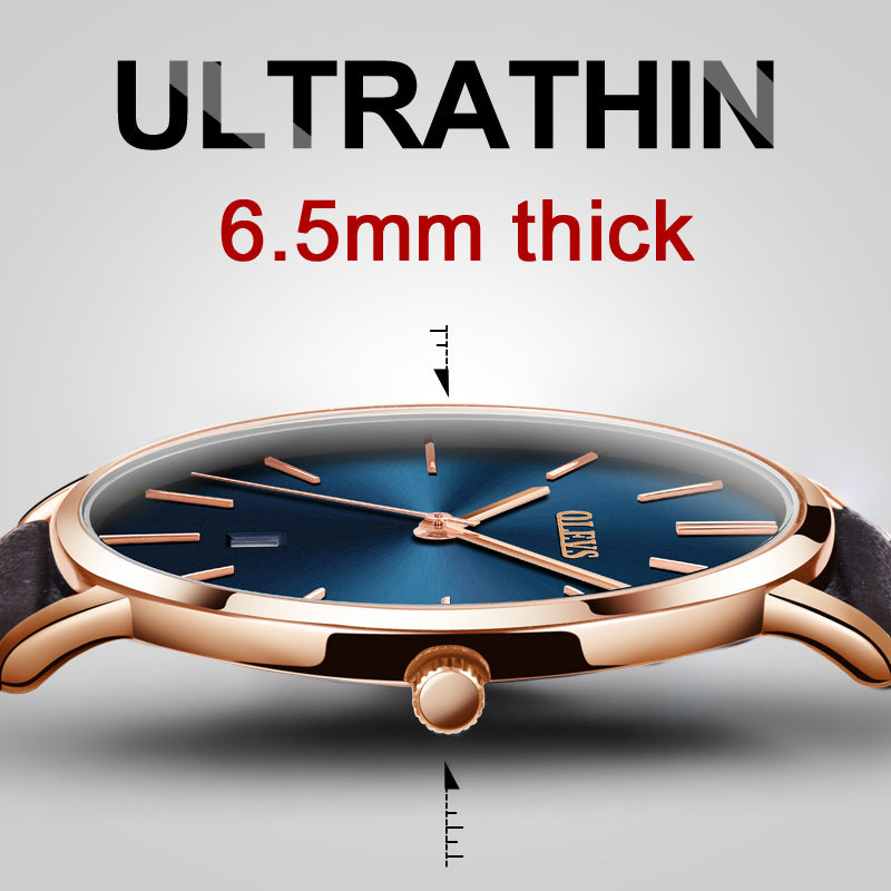 Ultra Thin Waterproof Watch - £89.99