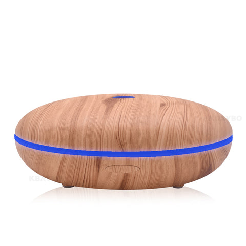 Essential Oil Diffuser 500ml Aroma Diffuser Aromatherapy Wood Grain Ultrasonic Cool Mist Humidifier - £40.00