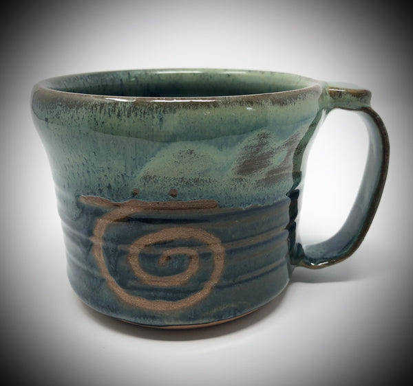 Serenity Pottery Mugs, Patience