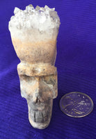 Arkansas Quartz Crystal Skull