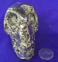 Arkansas Pyrite Skull