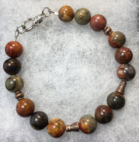 Cherry Creek Jasper Bracelet
