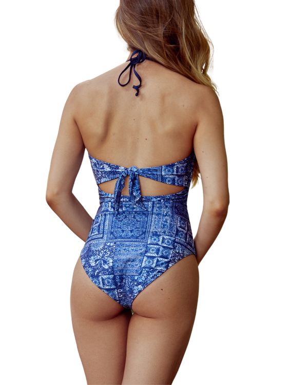 Adjustable Bandeau One Piece