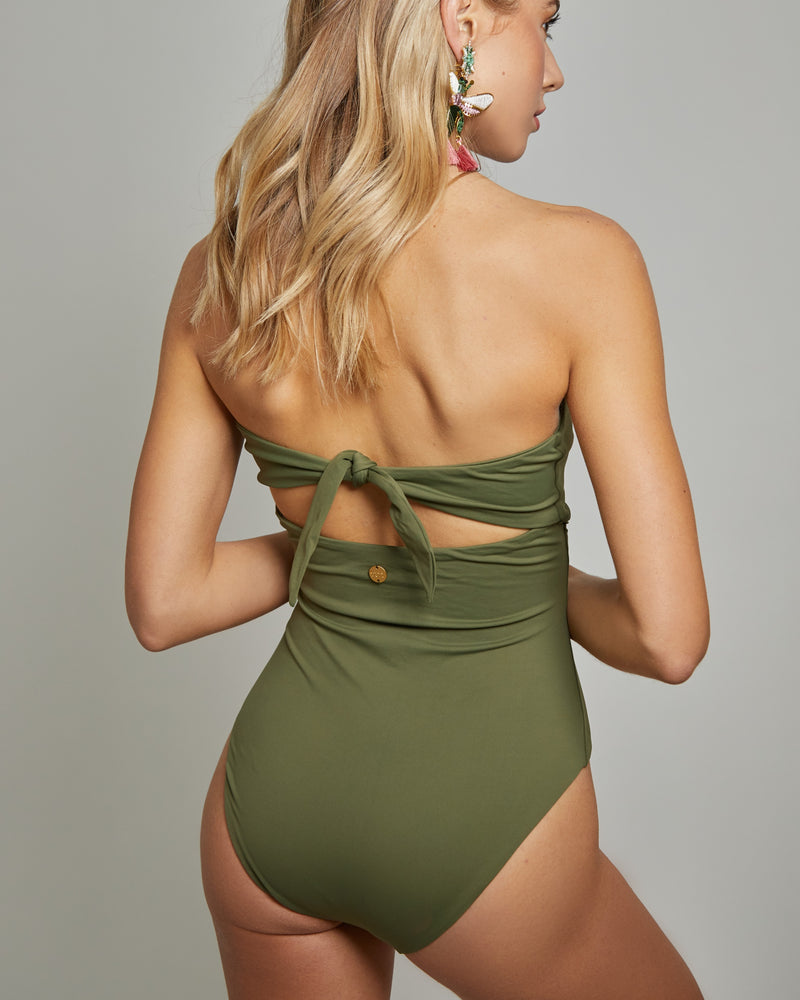L19 - Olive Juliette One Piece
