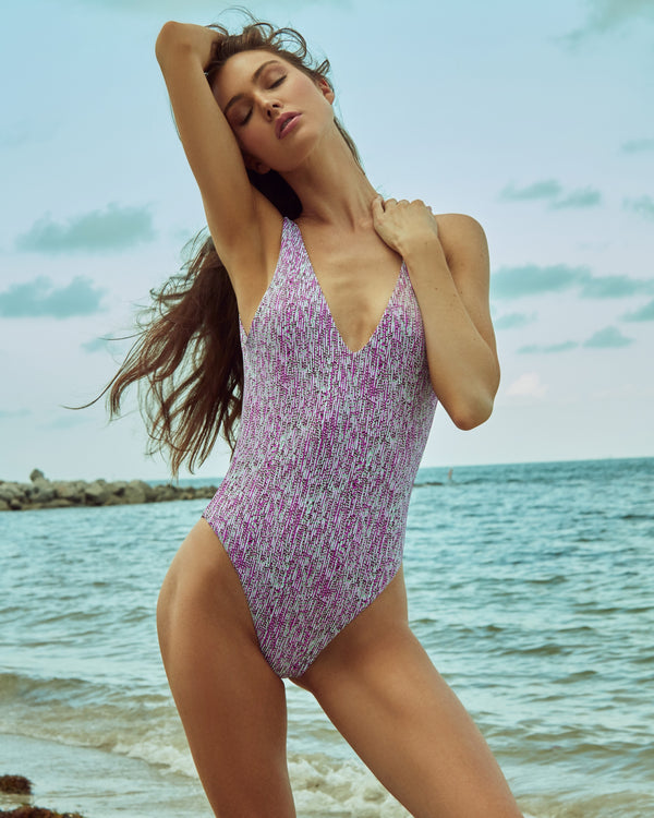 Verona One Piece - Raspberry