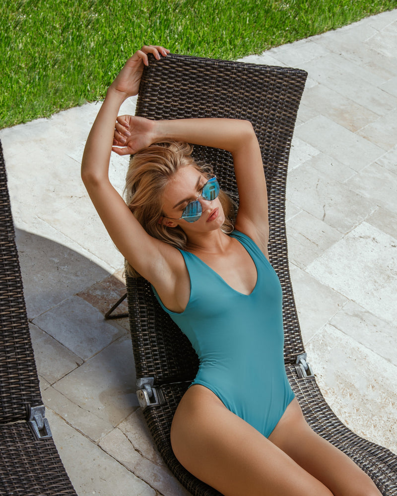 Verona One Piece - Emerald