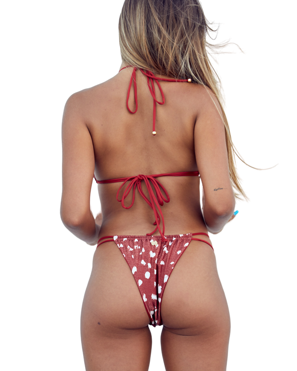 Cheeky Animal Print Bikini Bottom