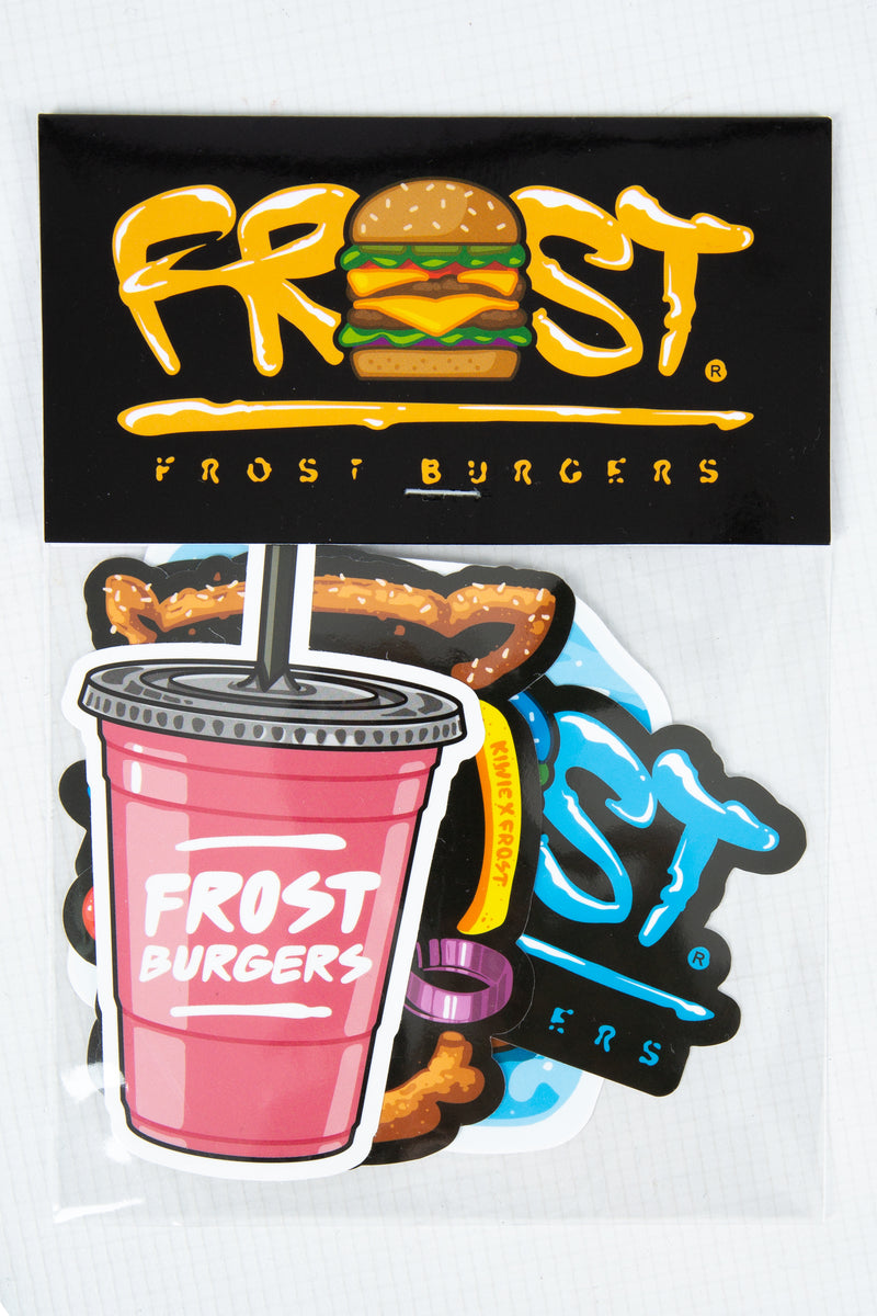 STICKER PACK FROST BURGERS PINK