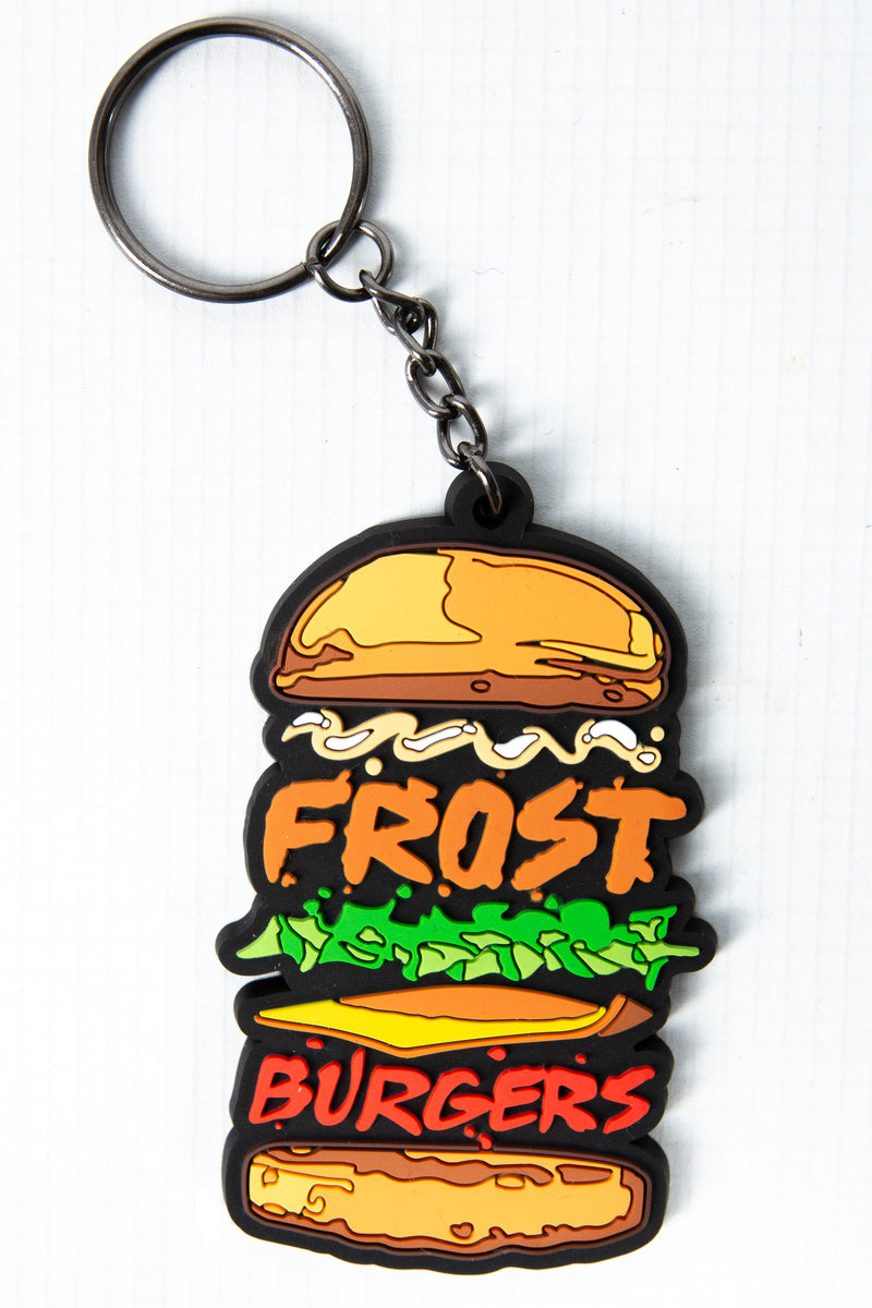 FROST BURGERS RUBBER KEY RING