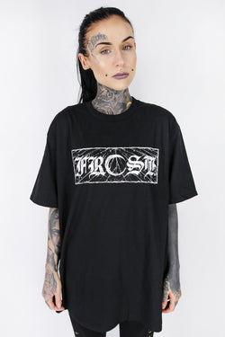 FROST ORIGINALS MOON T SHIRT BLACK