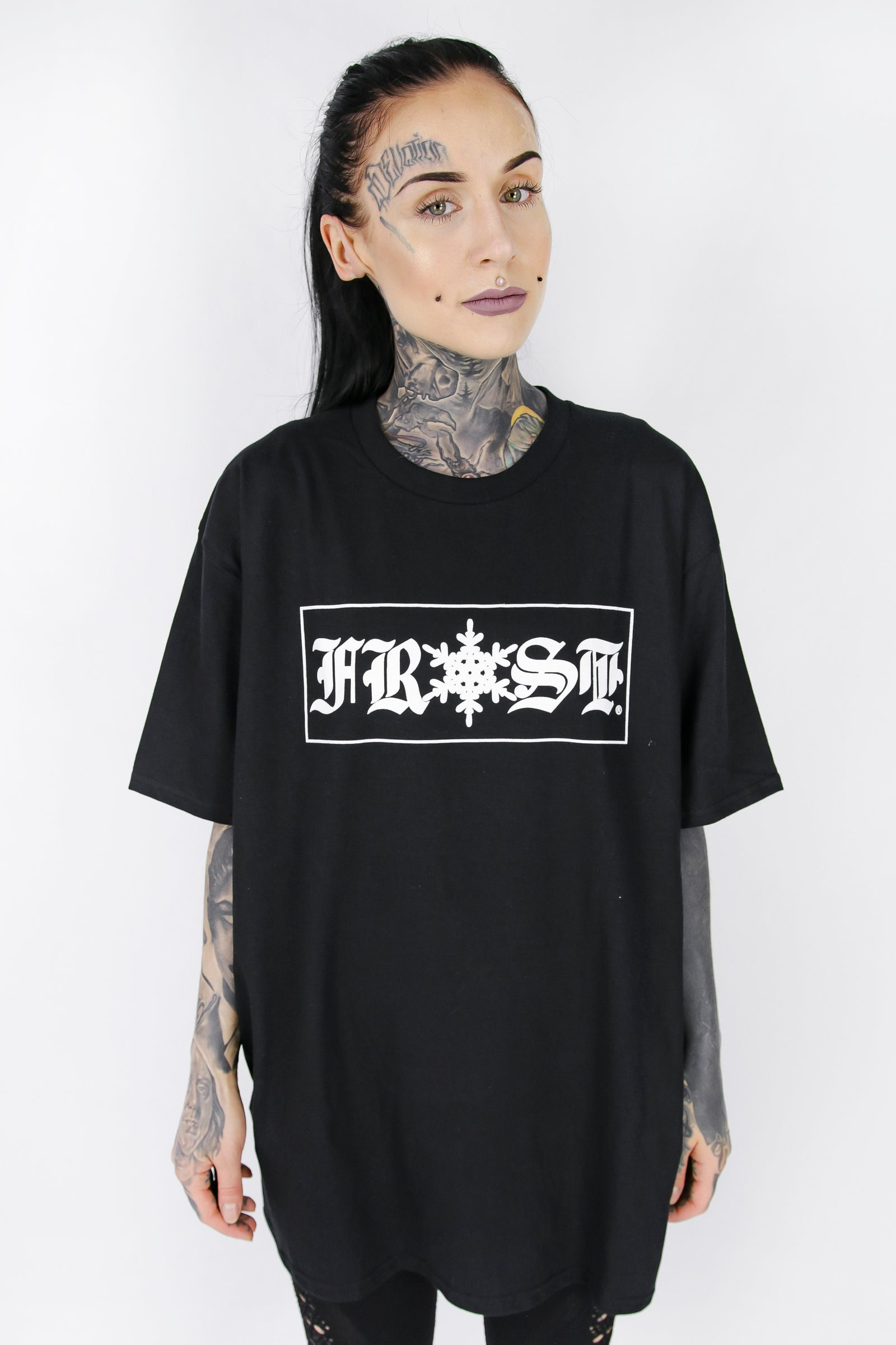 FROST ORIGINALS T SHIRT BLACK